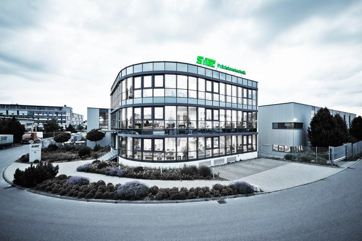 Haupgebäude der SiTec Präzisionstechnik Handels- und Produktionsgesellschaft mbH in Korntal-Münchingen