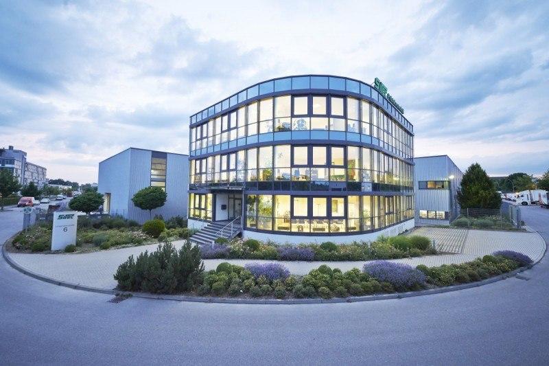 Gebäude des Hauptsitzes